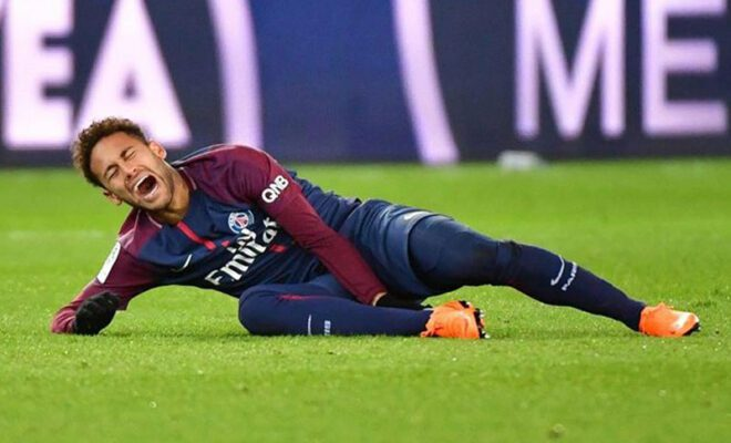neymar cedera