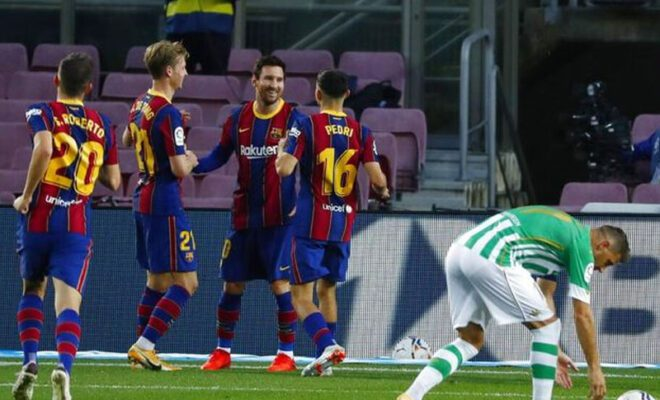 barcelona meraih kemenangan