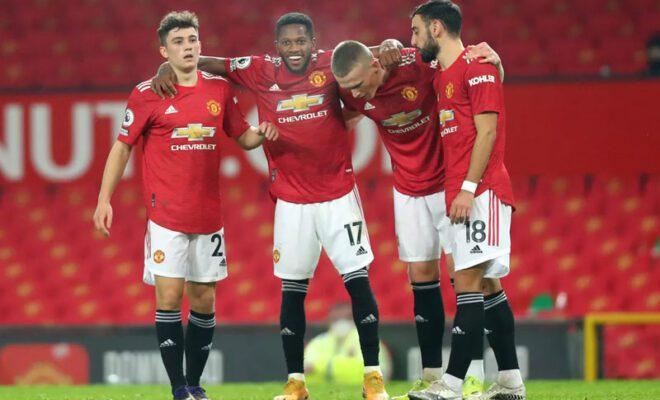 manchester united berhasil membantai southampton