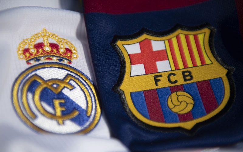 barcelona dan real madrid bersaing