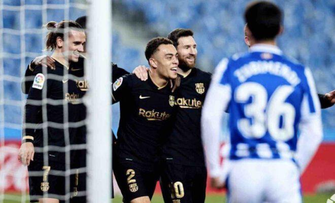 barcelona pesta gol