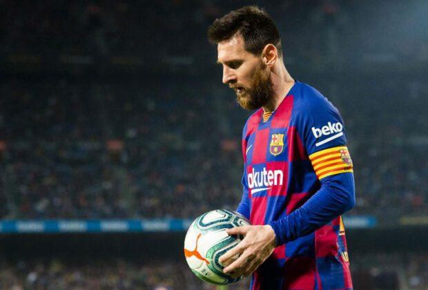 kapten barcelona lionel messi