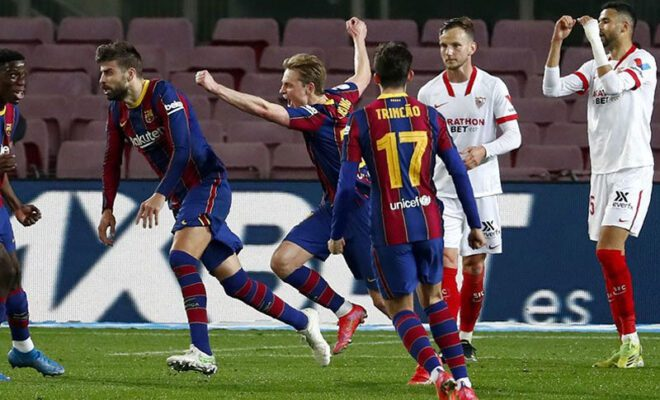 barcelona menang lawan sevilla