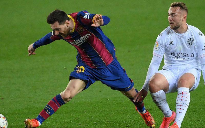 barcelona menang atas huesca