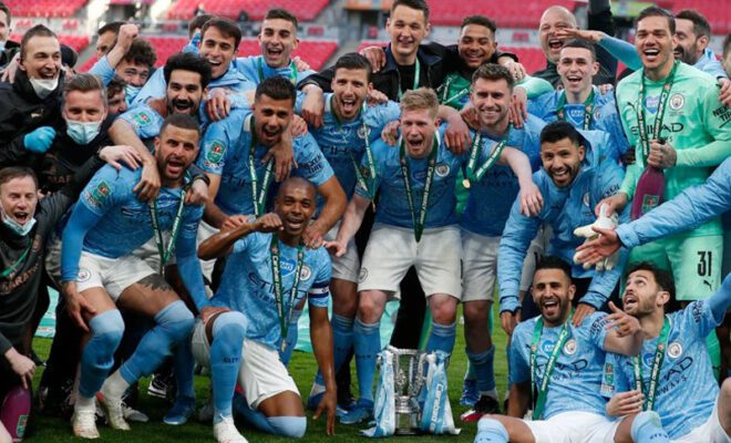 manchester city menjadi juara carabao cup