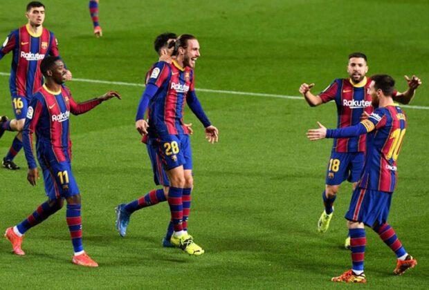 barcelona incar kembali kedudukan kedua