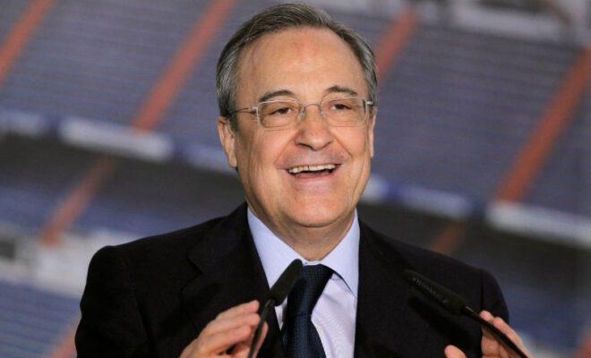 florentino perez kembali menjadi presiden