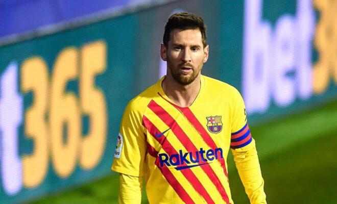 lionel messi bertahan di barcelona