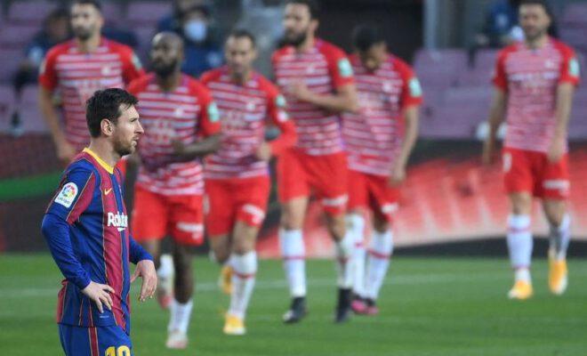 barcelona kalah dari granada