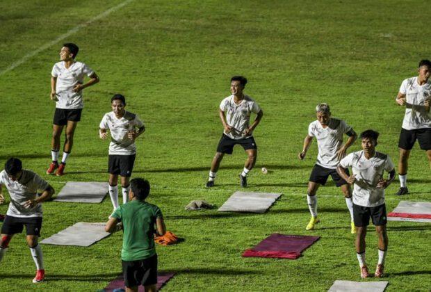 timnas indonesia sudah gelar latihan