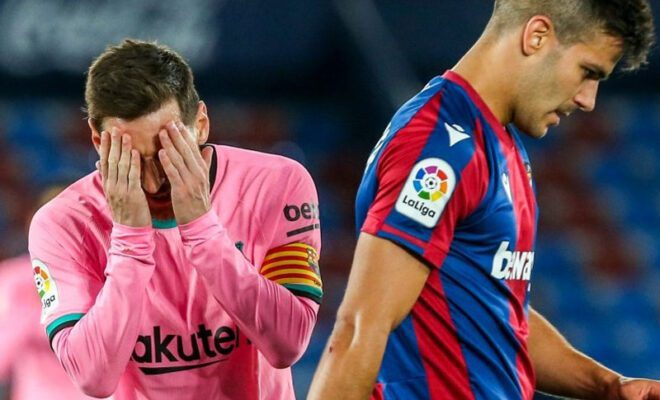 barcelona kembali sia-siakan kesempatan