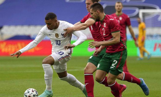 review pertandingan prancis vs bulgaria