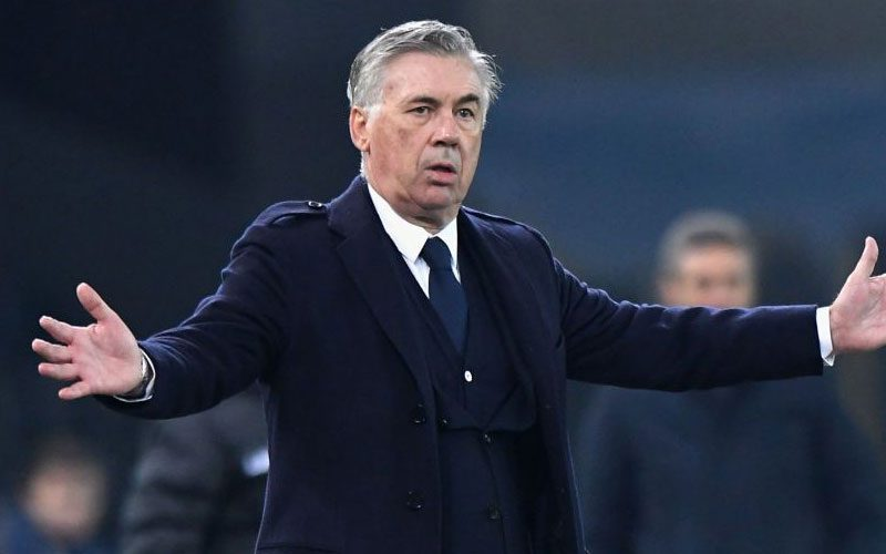 carlo ancelotti dan pemain real madrid