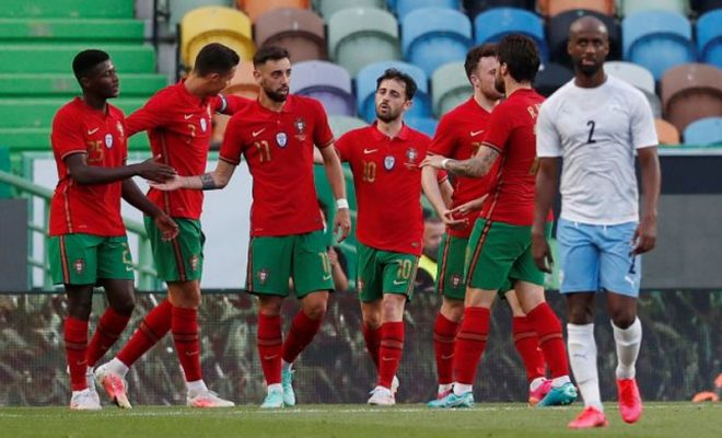 laga ujicoba portugal vs israel