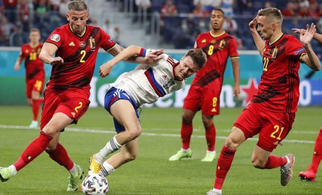 hasil pertandingan belgia vs rusia