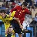 laga spanyol vs swedia