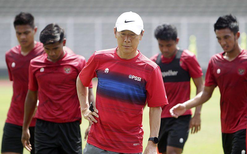 shin tae-yong jadi komentator olimpiade