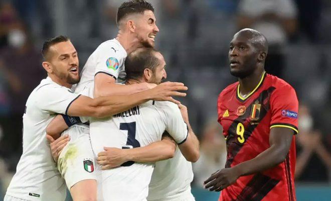 hasil laga belgia vs italia