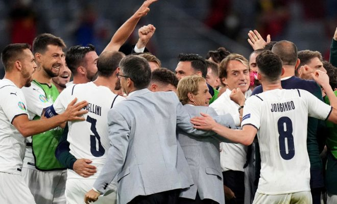 kisah pahit untuk timnas italia
