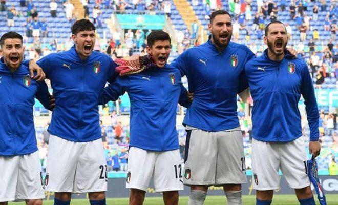 pertemuan italia vs inggris