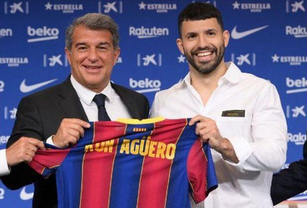 spekulasi kepindahan sergio aguero ke barcelona